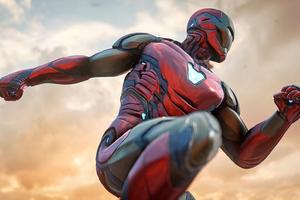 Iron Man Marvels Avengers Game Wallpaper