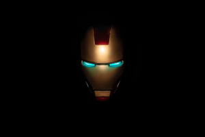 Iron Man Mask 4k Wallpaper