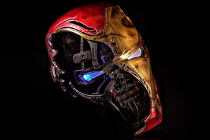 Iron Man Mask 5k 2019 Wallpaper