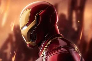 Iron Man Mask Closeup