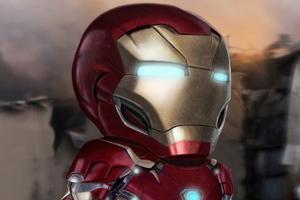Iron Man Mini 4k Wallpaper