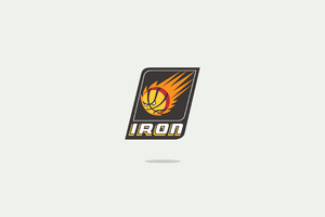 Iron Man Minimal Logo 4k Wallpaper