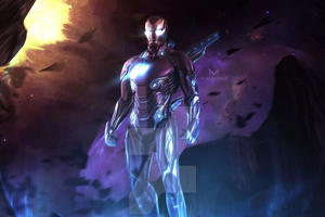 Iron Man Mizuri Artwork Wallpaper