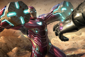 Iron Man Mk 50 Battering Rams Wallpaper
