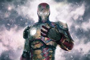 Iron Man Mk42 4k Wallpaper