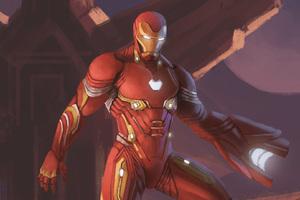 Iron Man Nanosuit In Avengers Infinity War