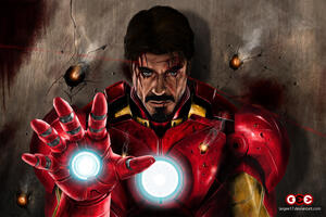 Iron Man Never Give Up