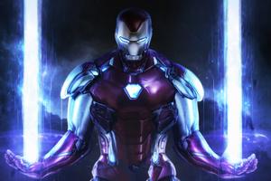Iron Man New Art Hd