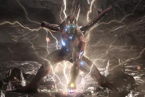 Iron Man New Suit Artwork
