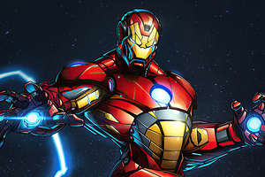 Iron Man New Suit Artworks Wallpaper
