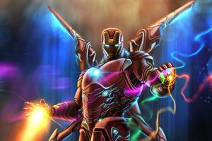 Iron Man Newtech Suit Wallpaper