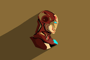 Iron Man Pop Head Minimalism
