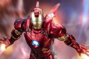 Iron Man Powerful Flight Wallpaper