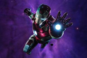 Iron Man Powerful Weapon 5k Wallpaper