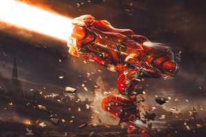 Iron Man Proton Cannon 4k