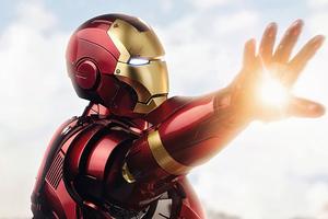 Iron Man Ready Fight Wallpaper