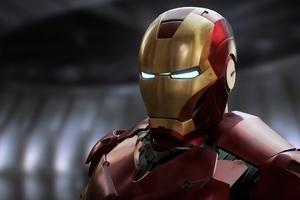 Iron Man Red Suit 4k Wallpaper