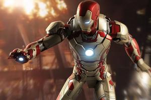 Iron Man Retreat Wallpaper