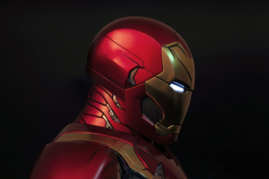 Iron Man Side 5k Wallpaper