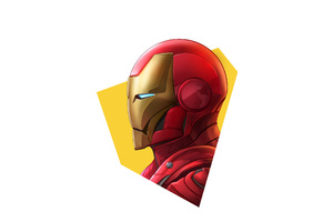 Iron Man Simple Minimalism