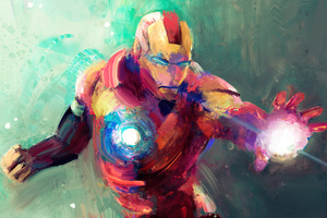 Iron Man Sketch Art 4k