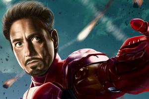 Iron Man Sketch Art