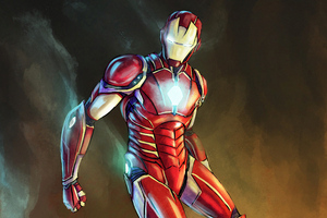 Iron Man Sketch Artwork Wallpaper