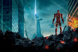 Iron Man Stark Tower Wallpaper