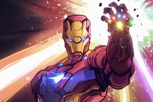 Iron Man Stones Wallpaper