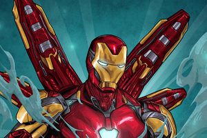Iron Man Suit Art