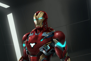 Iron Man Suit Artwork Wallpaper