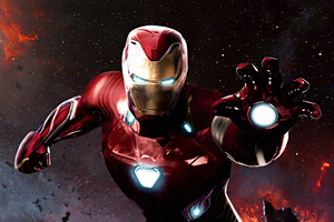 Iron Man Suit In Avengers Infinity War Wallpaper
