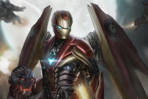 Iron Man The Awakening Machine 4k