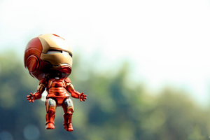 Iron Man Toy Photography Wallpaper