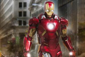 Iron Man VII 4k Wallpaper