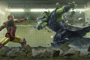 Iron Man Vs Skrull