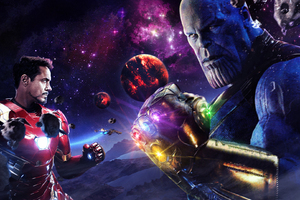 Iron Man Vs Thanos The Final Battle