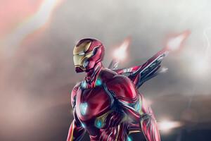 Iron Man Wing Suit 4k Wallpaper
