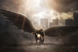 Iron Man Wings Wallpaper