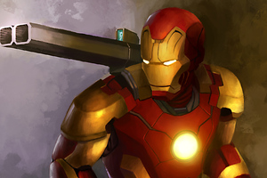 Iron Man With Weapon
