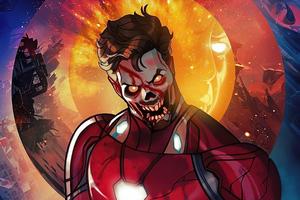 Iron Man X Zombie What If Wallpaper