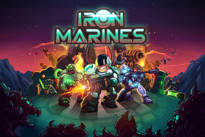 Iron Marines 4k 5k 8k Wallpaper