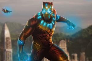 Iron Panther Wallpaper