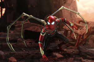 Iron Spider Art 5k