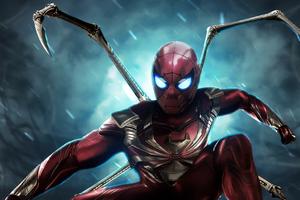 Iron Spider Killer Suit