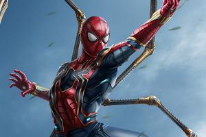Iron Spiderman New Suit