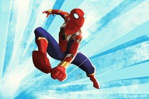 Iron Spiderman Suit