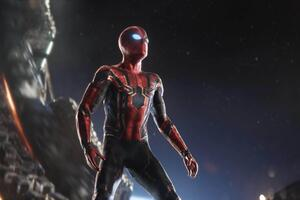 Iron Spidersuit In Avengers Infinity War Wallpaper