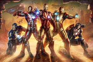 Iron Squad Wallpaper
