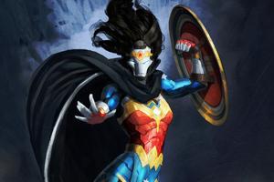 Iron Wonder Woman 4k 2020